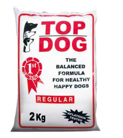 top dog regular uncooked